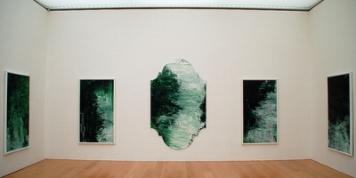 cc Flickr Keith Ewing Untitled (green paintings)