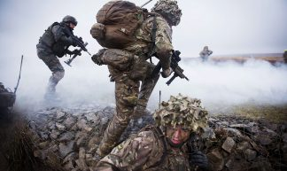 British Soldiers Training with the French Foreign Legion - Defence Images