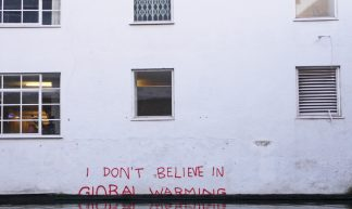 """I don't believe in Global Warming"": Climate change denial by #Banksy - Duncan Hull"