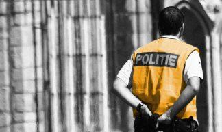Politie Agent in Gent Recadré - Guy Renard
