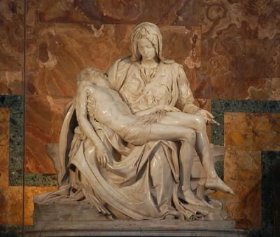 cc Flickr Caleb and Tara VinCross photosteam Pieta Michelangelo