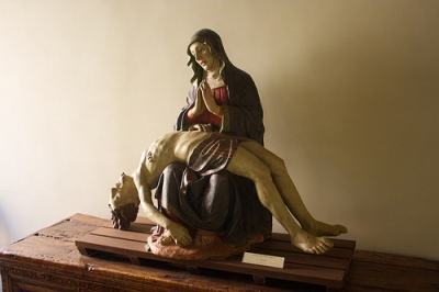 cc Flickr Jiuguang Wang photostream Pietà (Vesperbild) by 16th century sculptor of Tosco-Emiliano, Ca Rezzonico, Venice