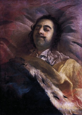 cc Flickr Lisby photostream Tzar Peter I on his Deathbed, 1725