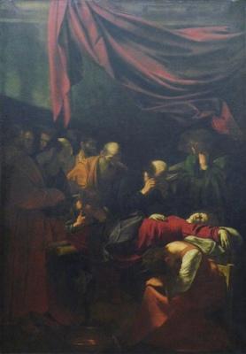 cc Flickr Steven Zucker photostream Caravaggio, Death of the Virgin