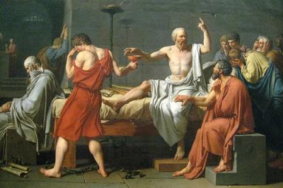 cc Flickr Wally Gobetz photostream NYC - Metropolitan Museum of Art - Death of Socrates