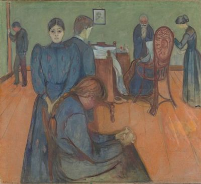 cc commons.wikimedia.org Munch Death in the sickroom