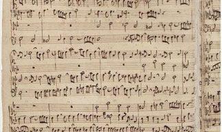 cc de.wikipedia.org Johann Sebastian Bach Kunst der Fuge Autograph Seite 1