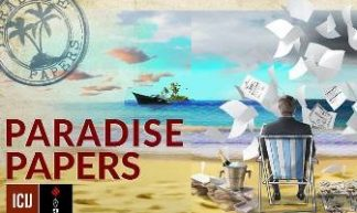 © ICIJ Paradise Papers Logo 2017a