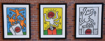 cc Flickr American Tobacco Historic District photostream Keith Haring - Lucky Strike