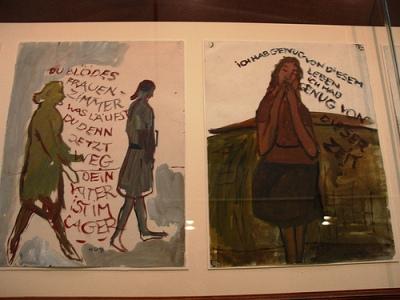 cc Flickr Lais Castro Trajano photostream dOCUMENTA 13 - Charlotte Salomon, artista alemã Dein Vater ist im Lager