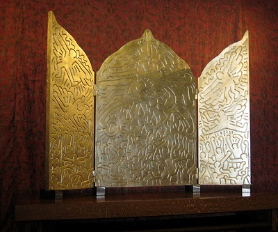 cc Wally Gobetz photostream San Francisco - Nob Hill Grace Cathedral - Interfaith AIDS Memorial Chapel - Life of Christ