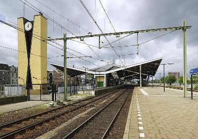 cc commons.wikimedia.org Overzicht station Tilburg
