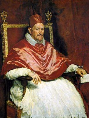 cc commons.wikimedia.org Retrato del Papa Inocencio X. Roma, by Diego Velázquez