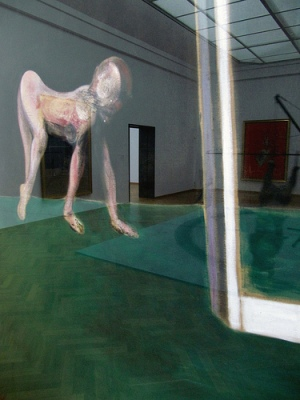 cc flickr.com photos tvbrt Francis Bacon Paralytic child walking on all fours in the Gemeentemuseum, 1964