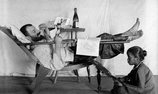 Colonial life in Indochina, in 1903. Cuộc sống ở Đông Dương năm 1903 - manhhai
