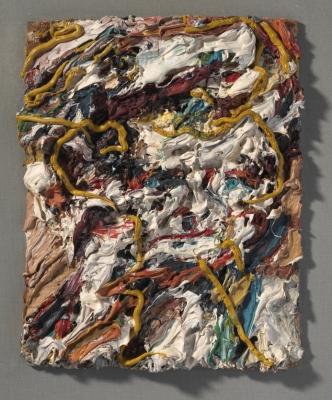 via Rijksmuseum Frank Auerbach Head of E O W II 1964 Frank Auerbach courtesy Marlborough Fine Art