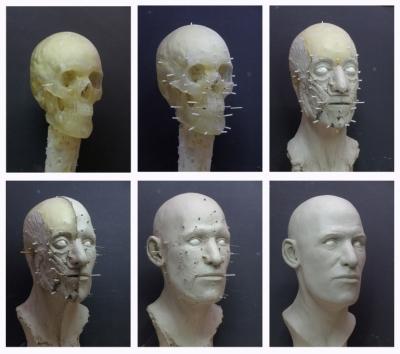 © Caspar Berger Skeleton Self-portrait 21 totaal. Foto Erik en Petra Hesmerg