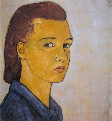 Charlotte Salomon, Zelfportret, 1940. Collection Jewish Historical Museum, Amsterdam, © Charlotte Salomon Foundation, Charlotte Salomon®