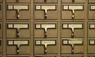 University of Michigan Library Card Catalog - David Fulmer