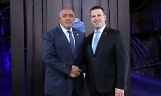 Boyko Borissov and Jüri Ratas - EU2017EE Estonian Presidency