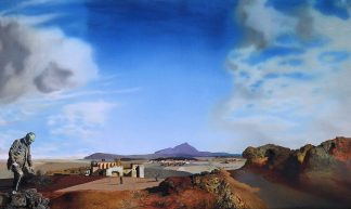 Salvador Dali - The Chemist of Ampurdan in Search of Absolutely Nothing [1936] - Gandalf's Gallery