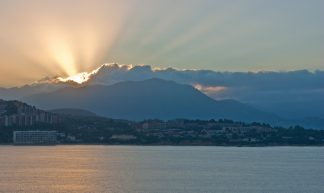 Sunrise over Ajaccio - Mark Salisbury