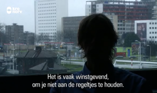 Screenshot uit documentaire Beerput Nederland KRO-NCRV 2017