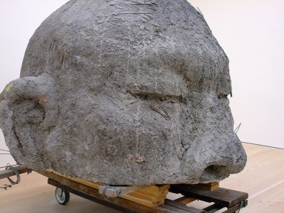 cc Flickr Mr. Push photostream Ash Head No. 1 - Zhang Huan