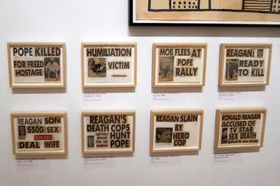 cc Flickr Wally Gobetz photosdtream Brooklyn - Brooklyn Museum Keith Haring: 1978–1982 - Newspaper Collages