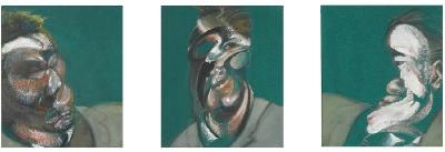 cc Flickr cea+ [ B ] Francis Bacon - Three Studies for a Self-Portrait (1967)