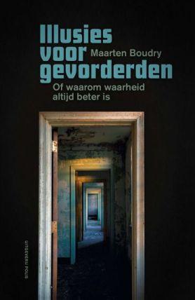 © Uitgeverij Polis Cover Illusies voor gevorderden van Maarten Boudry