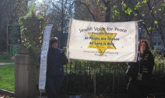 Philadelphia Dec 2nd Gaza demo - Jewish Voice for Peace