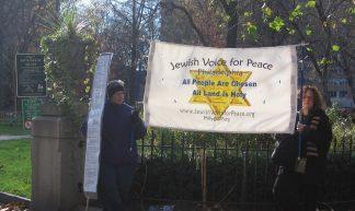 Philadelphia Dec 2nd Gaza demo - Jewish Voice for Peace