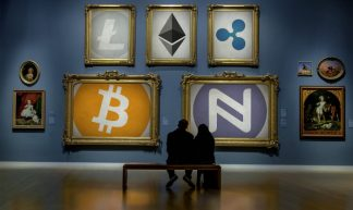 Cryptocurrency Art Gallery - Namecoin