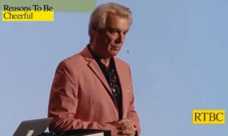 Screenshot Youtube David Byrne Reasons to be cheerful 2018