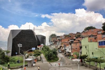 cc Flickr Jorge Gobbi photostream Biblioteca España Medellín, Colombia