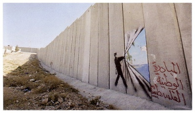 cc Flickr Wall in Palestine banksy-The Wall in Palestine