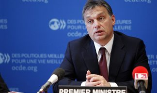 Viktor Orbán, Prime Minister of Hungary at the OECD - OECD Organisation for Economic Co-operation and Development