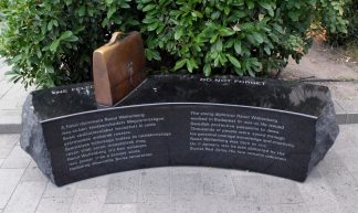 Raoul Wallenberg Memorial, Budapest, Hungary - rchappo2002