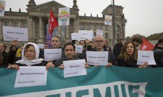 Demo gegen AfD vor dem Reichstag - Fraktion DIE LINKE. im Bundestag