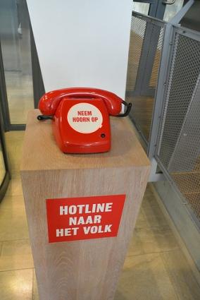 cc Flickr suasso photostream Neem hoorn op Hotline naar het Volk, Martijn Engelbregt