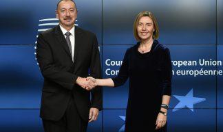 Federica Mogherini meets Ilham Aliyev, President of Azerbaijan - European External Action Service
