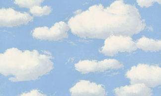 René Magritte - The Curse [c.1963] - Gandalf's Gallery