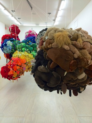 cc Flickr n e o g e j o photostream Mike Kelley - Deodorized Central Mass With Satellites, 1991-99