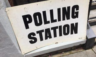 Polling Station - Matt Brown