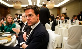 Holland Russia Trade Diner - Minister-president Rutte