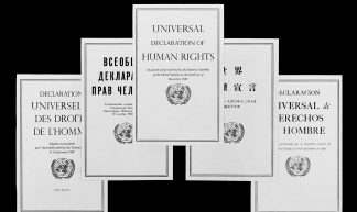 Universal Declaration of Human Rights - United Nations Photo