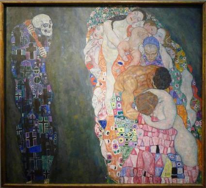 cc Flickr Steven Zucker photostream Klimt Death and life