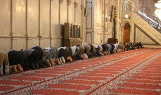 Damascus, Umayyad Mosque, prayers - Arian Zwegers