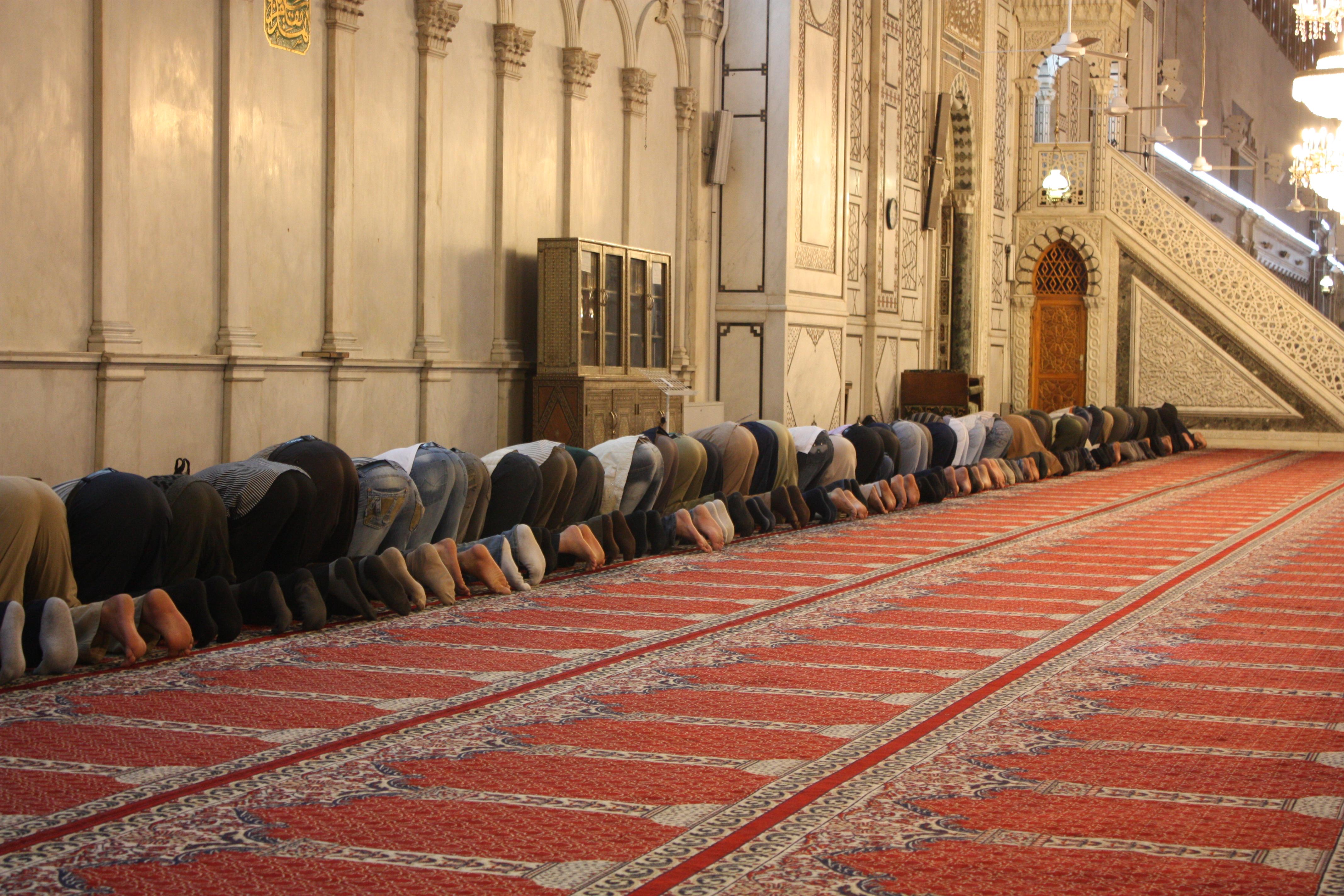 www.flickr.com/photos/azwegers/6362307027 Damascus, Umayyad Mosque, prayers - Arian Zwegers